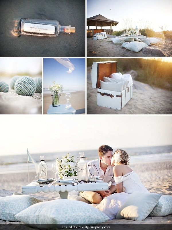 Beach Wedding @Jacqueline Ortega [[please see if this is something the wedding planner can arrange maybe for the rehearsal dinner]