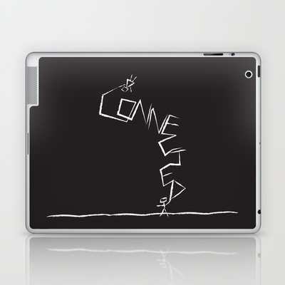 Connected Laptop & iPad Skin by Daily Thoughts - $25.00