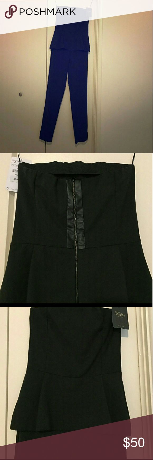 Zara Black Zara peplum pants suit.. If I like something in your closet im willing to trade 😊 Zara Other
