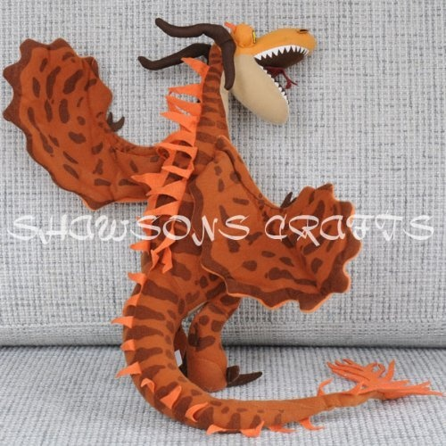 how to train your dragon monstrous nightmare plush