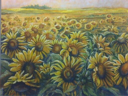In time all the flowers turn to face the sun by Christine Joubert