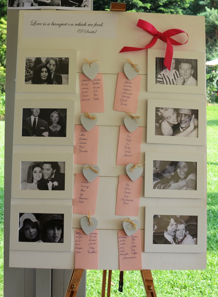 Popolare 53 best Tableau de Mariage images on Pinterest | Tableau marriage  MM26