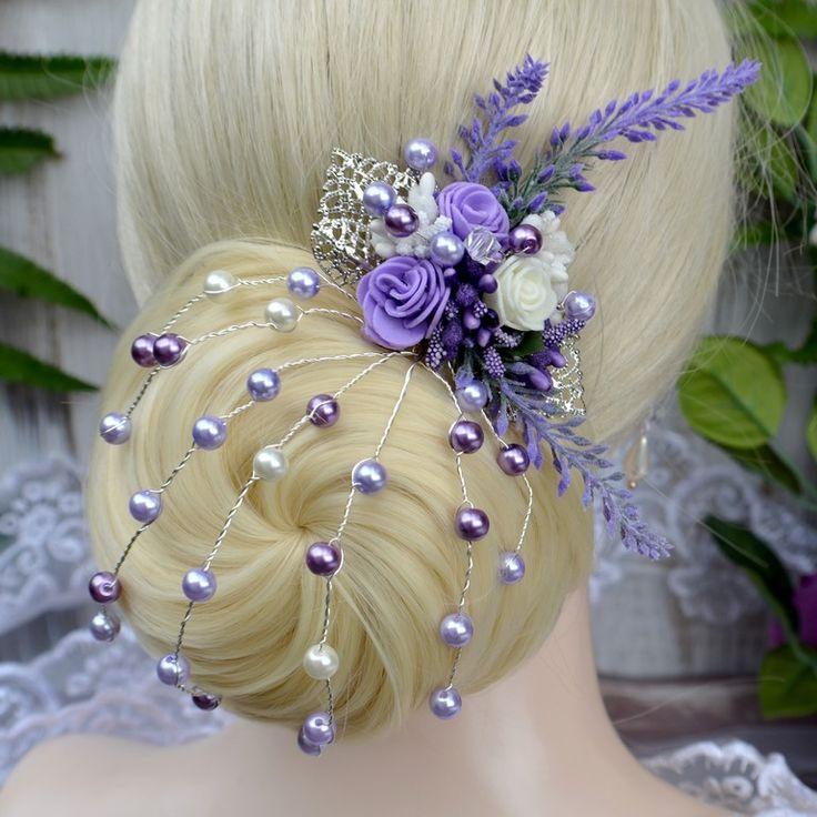 Svatební+spona+do+vlasů