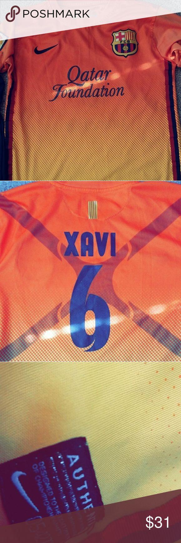 FC Barcelona jersey FC Barcelona jersey barly used. Xavi Nike Other