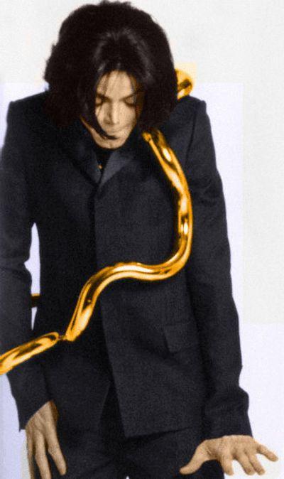 Michael Jackson ~ L'uomo Italian Vogue  Photo Shoot   2007