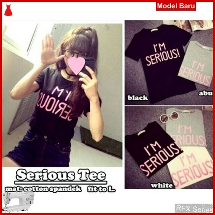RFX152 MODEL SERIOUS TEE SPANDEK FIT TO L BMG SHOP MURAH ONLINE DAN PIN JUAL: Baju Murah Online Model RFX152 MODEL SERIOUS TEE SPANDEK FIT TO L BMG SHOP MURAH ONLINE Murah Siap kirim seindonesia GRATIS ONGKIR Khusus Bandung, Jogja, Tanah abang, Surabaya, Jawa Barat dan sekitarnya hanya di BMG SHOP www.bajumurahgrosiran.com