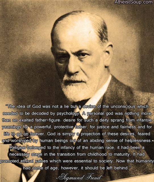 a discussion of freuds ideas on religion Sigmund freud argued that religious beliefs were deep seated in the oedipus  complex freud's view on religion was that it was an illusion.