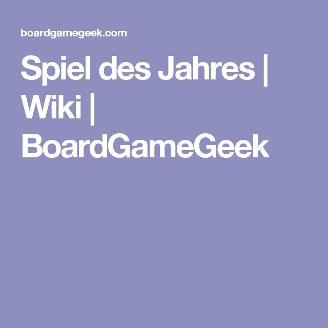 Spiel des Jahres   Wiki   BoardGameGeek