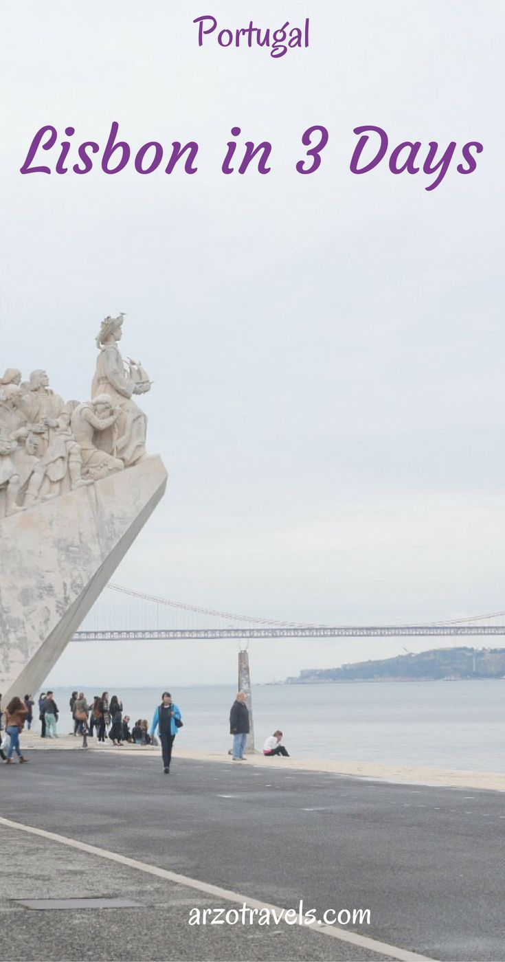 3 Days in Lisbon Portugal What to Do