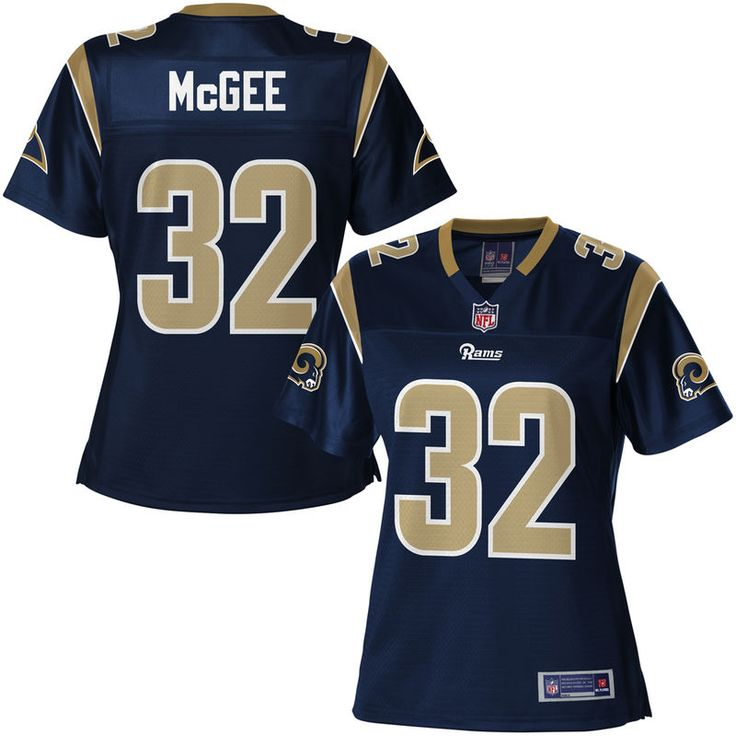 Women's Los Angeles Rams Brandon McGee NFL Pro Line Navy Team Color Jersey