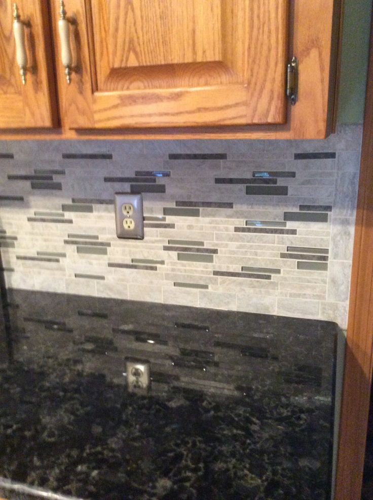 Backsplash Floriana Heather From Lowes Volga Blue Granite Counter Kitchen Pinterest Blue Granite Granite Counters And Granite