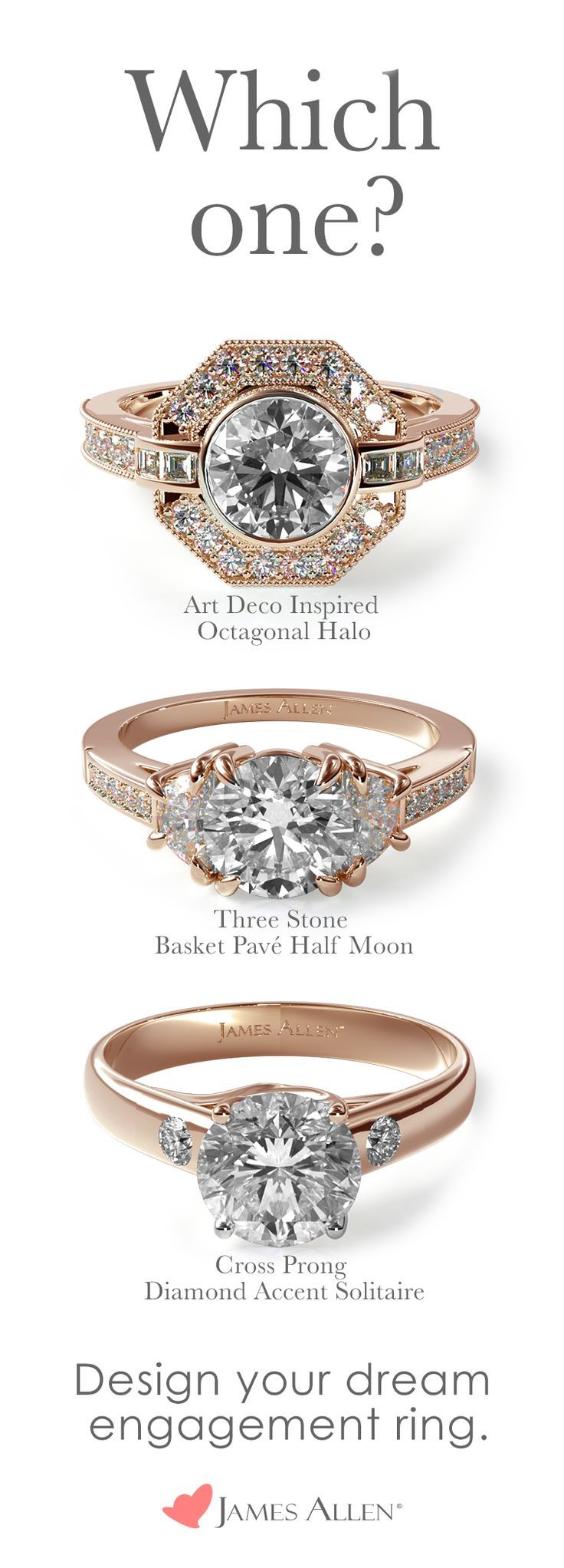 Diamond Rings Hundreds Of Stunning Rose Gold Engagement Ring Styles With 100 000 Loose Diamo Youfashion Net Leading Fashion Lifestyle Magazine Dream Engagement Rings Engagement Rings Shop Engagement Rings