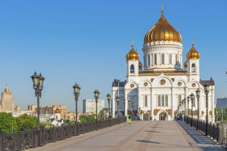 The Cathedral of Christ the Saviour  is the tallest Orthodox Christian church in the world