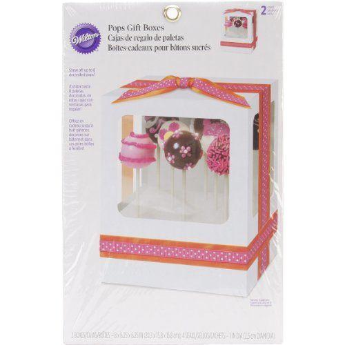 Wilton POPS Box 2-Count #cake #pop #boxes  sc 1 st  Pinterest & The 25+ best Cake pop boxes ideas on Pinterest | Pop box Wedding ... Aboutintivar.Com