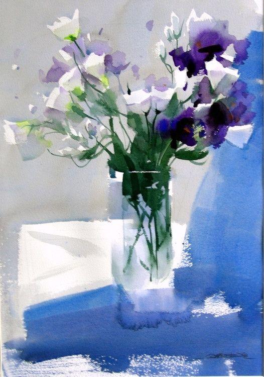 Zhao Zhiqiang watercolor