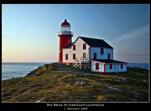 Ferryland Lighthouse Newfoundland, Canada