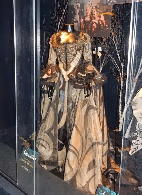 Christine Baranski Into the Woods Stepmother movie costume