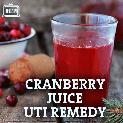 how to drink cranberry juice for uti
