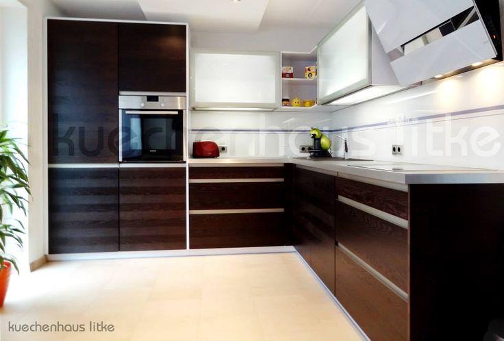 1000 idee su k che eiche su pinterest k chen design holz eiche holz e cooles k chendesign. Black Bedroom Furniture Sets. Home Design Ideas