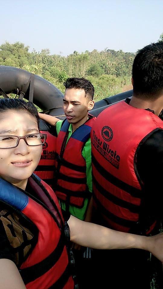 perjalanan ke sungai oya