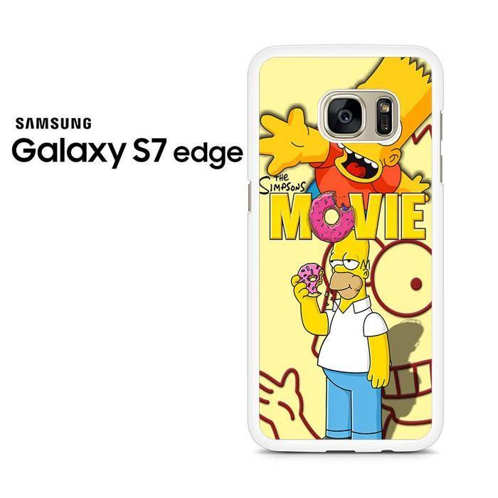 Homer Simpson Donut Samsung Galaxy S7 Edge Case