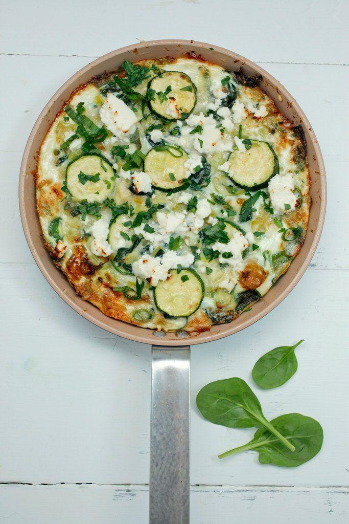 Green Vegetable Frittata Recipe Vegetable Frittata Healthy Chef Veggie Frittata