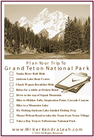Kendra Leah, @Writing2Day I have truly lost track of how many times I have vacationed in Grand Teton National Park. I think it might be six? As we climb towards Togwotee Pass after leaving Dubois a....