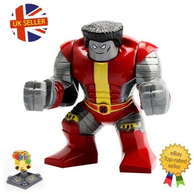 Marvel Mini Figure Avengers Thanos Infinity Gauntlet Hulk End Game UK Seller
