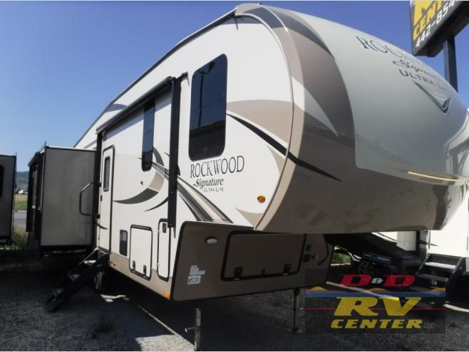 New 2019 Forest River Rv Rockwood Signature Ultra Lite 8299bs