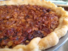"""Utterly Deadly Southern Pecan Pie: I've been making pecan pie for the holidays for about 35 years. I decided to give this one a try prior to the holidays (would hate to disappoint at Thanksgiving or Christmas). This has become my new pecan pie recipe! I love the gooey filling."""" -Lobstr89"""