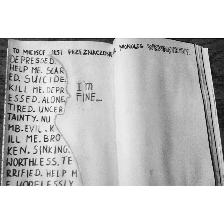 Podesłała Gosia Kubat #zniszcztendziennikwszedzie #zniszcztendziennik #kerismith #wreckthisjournal #book #ksiazka #KreatywnaDestrukcja #DIY