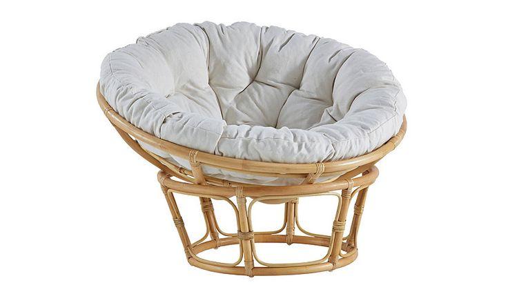 HOME AFFAIRE Papasan-stoel met kussen bij Otto