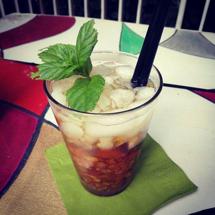 Today special! Coconut mojito with fico d'india! #maliburum #mojito #ficodindia #summer #cocktail #dopofestival