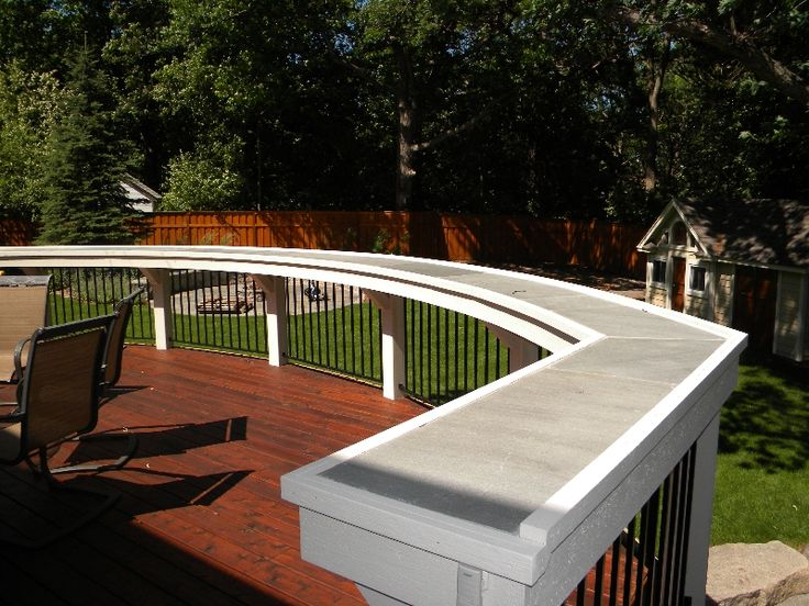 Narrow Bar Top For Deck Is There A Way To Make It So It