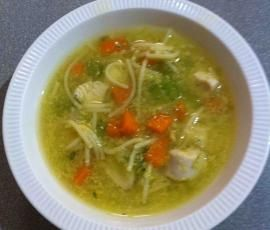 Recipe Chicken Soup by Rosemary Byrne - Recipe of category Soups