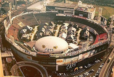 一時期、住宅展示場だった大阪球場があまりにもシュール(画像) - 涙目で仕事しないSE