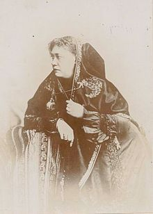 Helena Blavatsky - Russian theosophist and writer who traveled around the world three times in the late 1800s