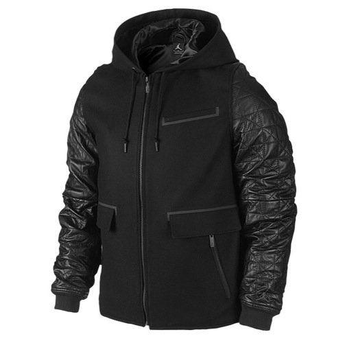 Nike Mens Jordan AJ Leather Letterman Jacket -  http://airjordankicksretro.com/