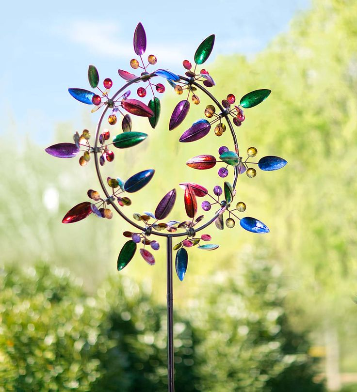 Paradise Metal Wind Spinner in Wind Spinners