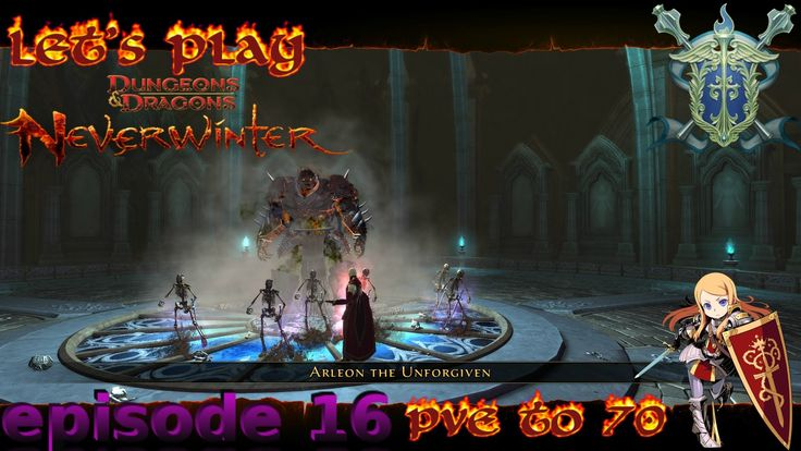 Enter the dragon - Neverwinter Xbox one paladin PvE to 70 episode 16
