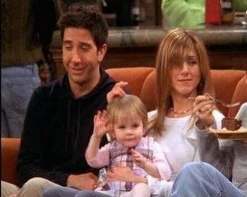 Rachel and Ross' daughter has grown up a lot since Friends finished.