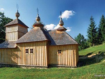 Korejovce - Kostol Ochrany Bohorodičky - Drevené kostoly - Slovakia.travel