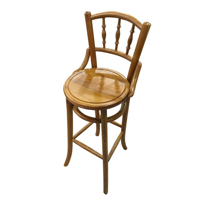 Kopitiam - Bar Chair.  The Kopitiam Bar Chair displays a nostalgic charm with a twist of teak wood frame.