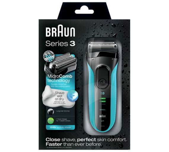 Buy Braun 3040s Series 3 Electric Shaver at Argos.co.uk - Your Online Shop for Men's shavers, Men's shavers and accessories, Health and beauty.