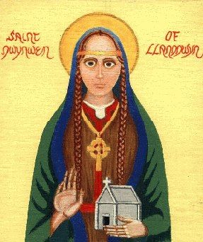 Saint Dwynwen - Patron Saint of Lovers. 25th January.