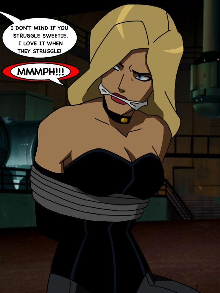 Young Justice Black Canary Gagged by TheOneAndOnlyCaptor ...