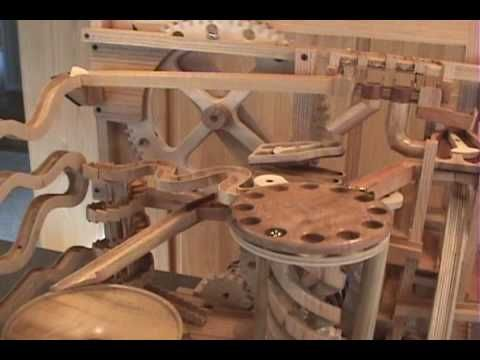 I'm calling this art. I could stare at this for hours. And the xylophone! Mikes Marble Machine - YouTube