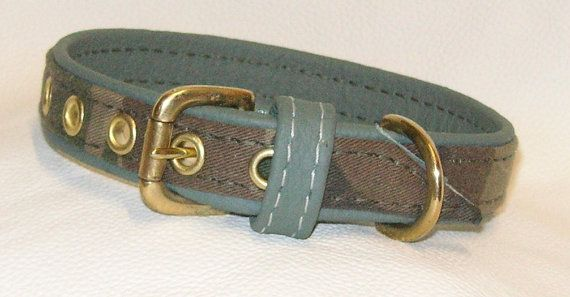 hand made in the new forest olive green leather and green camouflage dog collar by www.etsy.com/uk/shop/Newforestcrafts