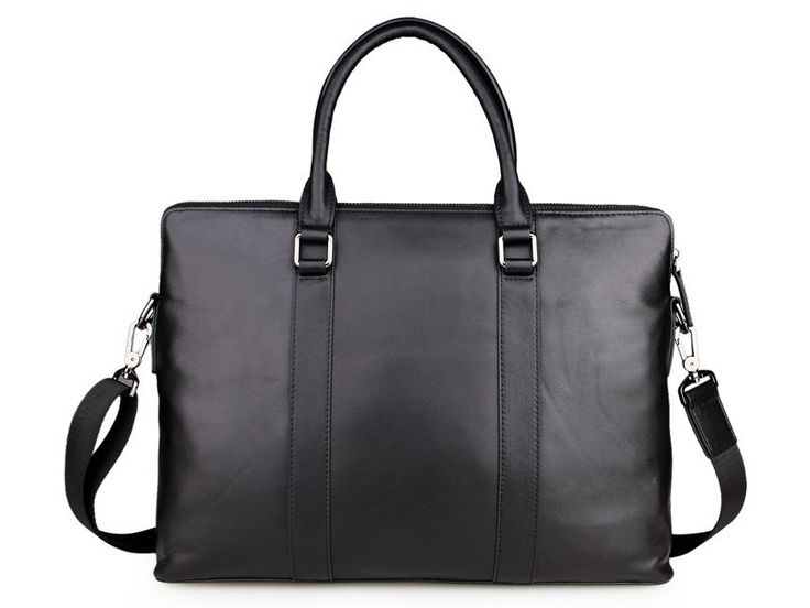 Slim Organizer Portfolio Leather Brief
