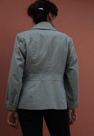 Marks & Spencer Jacket/ Trench Ash Grey